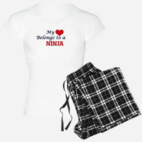 My heart belongs to a Ninja Pajamas