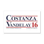 Costanza And Vandelay Car Magnet 20 X 12