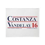 Get Your Costanza And Vandelay Color Throw Blanket