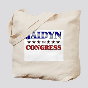JAIDYN for congress Tote Bag