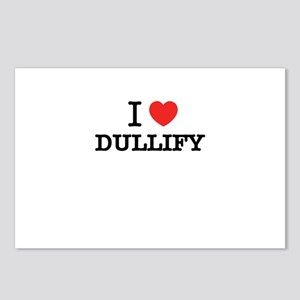 I Love DUDDERS Postcards (Package of 8)