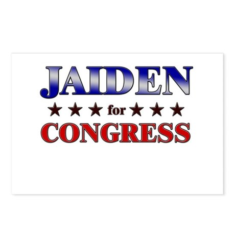 JAIDEN for congress Postcards (Package of 8)