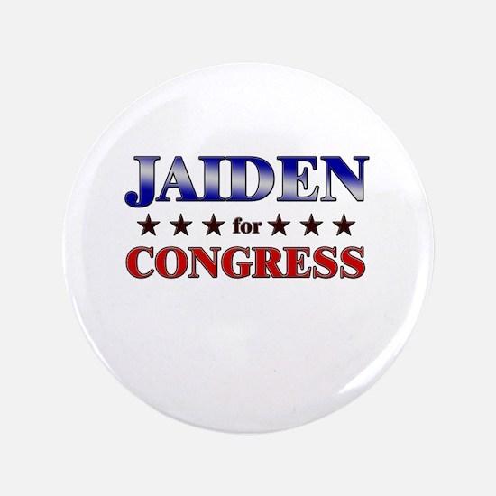"""JAIDEN for congress 3.5"""" Button"""