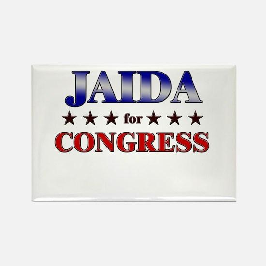 JAIDA for congress Rectangle Magnet