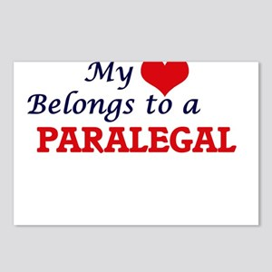 My heart belongs to a Par Postcards (Package of 8)