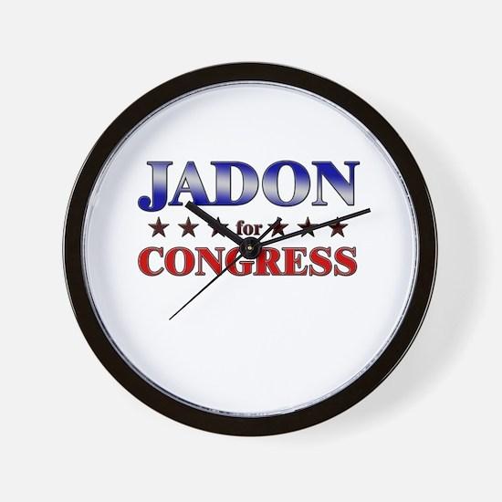 JADON for congress Wall Clock