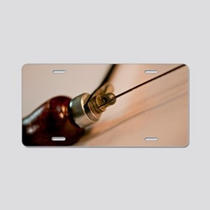 Coping Saw Aluminum License Plate
