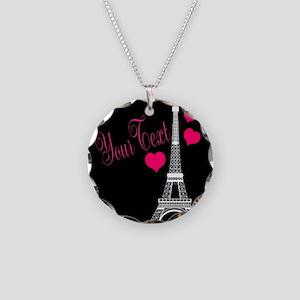 Paris France Eiffel Tower Necklace