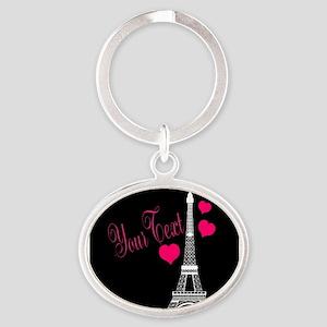 Paris France Eiffel Tower Keychains