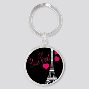 Paris France Eiffel Tower Keychains