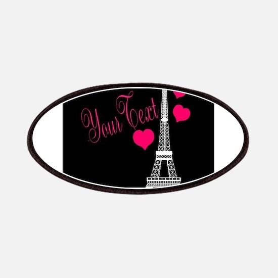 Paris France Eiffel Tower Patch