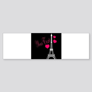 Paris France Eiffel Tower Bumper Sticker