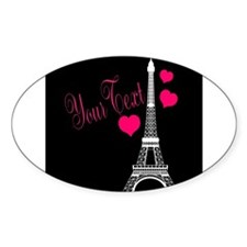 Paris France Eiffel Tower Sticker