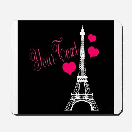 Paris France Eiffel Tower Mousepad