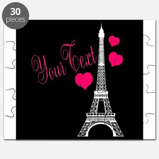 Paris France Eiffel Tower Puzzle