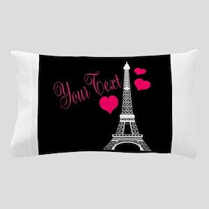 Paris France Eiffel Tower Pillow Case
