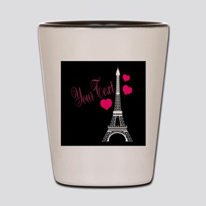 Paris France Eiffel Tower Shot Glass