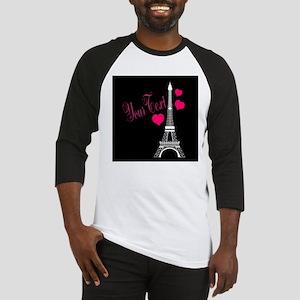 Paris France Eiffel Tower Baseball Jersey