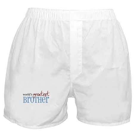 World's Greatest Brother Boxer Shorts