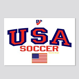 USA American Soccer Postcards (Package of 8)