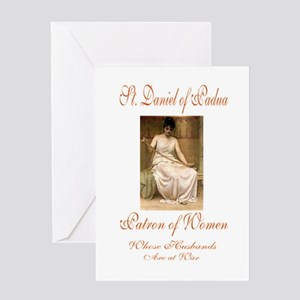 St. Daniel of Padua Greeting Card