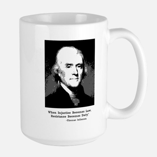 Jefferson Quote 15 Oz Mug Mugs