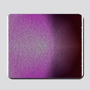 Pinky Stained Glass Mousepad