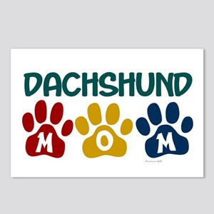 Dachshund Mom 1 Postcards (Package of 8)