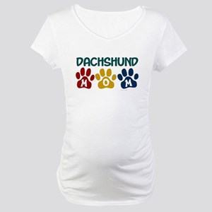 Dachshund Mom 1 Maternity T-Shirt