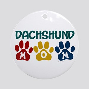Dachshund Mom 1 Ornament (Round)