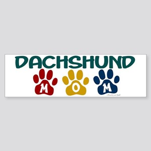Dachshund Mom 1 Bumper Sticker