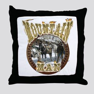 Mountain man gifts t-shirts a Throw Pillow