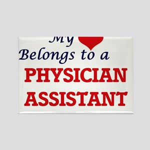 My heart belongs to a Physician Assistant Magnets