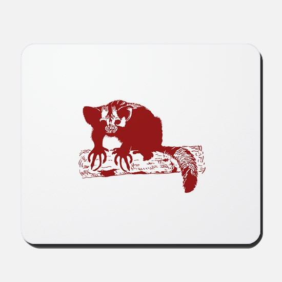 Red Lemur Mousepad