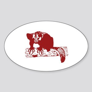 Red Lemur Sticker
