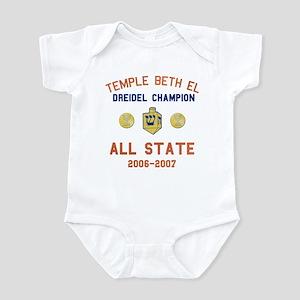 Dreidel Champion Infant Bodysuit