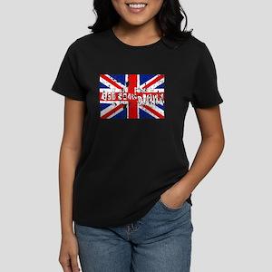 god save the queen Women's Dark T-Shirt