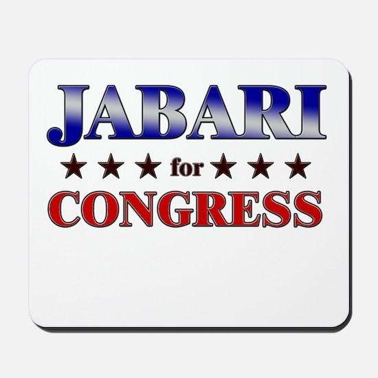 JABARI for congress Mousepad