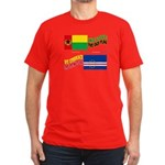 Cape Verde Flags Embrace Men's Fitted T-Shirt