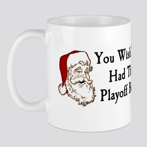 Santa's Playoff Beard Mug