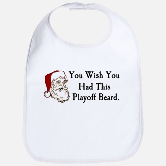 Santa's Playoff Beard Bib