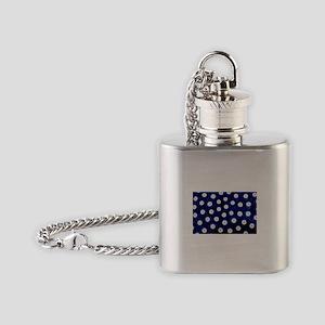 Polish Pottery Polka Dots Flask Necklace