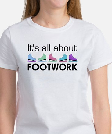 About Footwork Multi Skates Women's T-Shirt