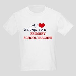 My heart belongs to a Primary School Teach T-Shirt