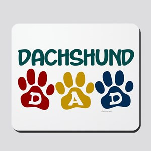 Dachshund Dad 1 Mousepad