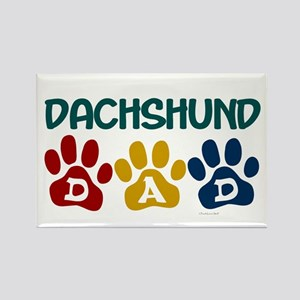 Dachshund Dad 1 Rectangle Magnet
