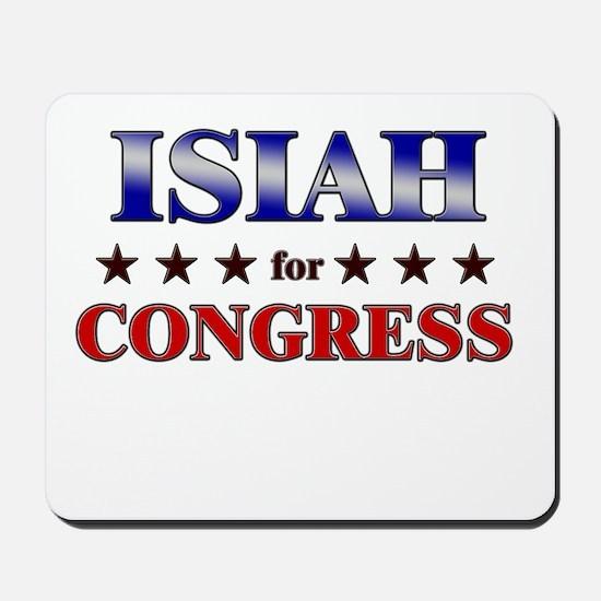 ISIAH for congress Mousepad