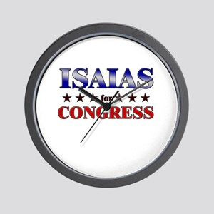 ISAIAS for congress Wall Clock