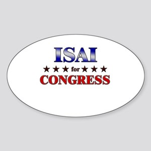 ISAI for congress Oval Sticker