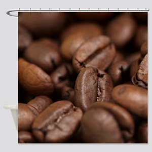 Coffee Beans Shower Curtain